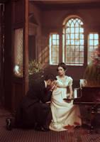 Eugene Onegin and Tatiana by ilona-veresk