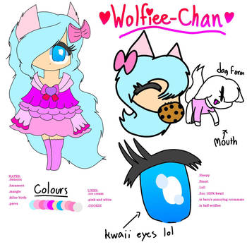 Wolfiee-Chan Reference 2018-19 by Okosunkate