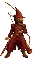 Jebeddo Nopenstallen, Forest Gnome Ranger-Druid by White-Rose-Brian
