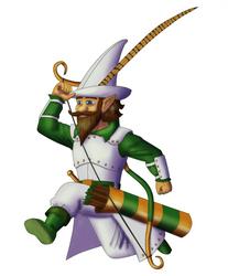 Opplebee Nopenstallen, Forest Gnome Arcane Archer by White-Rose-Brian