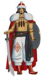 Ganzorig, Tuigan Eagle-Totem Barbarian by White-Rose-Brian