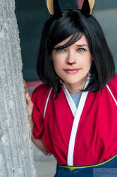 Brina Palencia as Natsuki by deviouselite