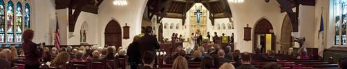 Wedding Panorama by deviouselite