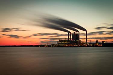 Patnow power station in Konin by jarek78fe
