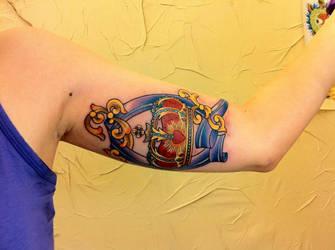 queen band fan tattoo by nurru