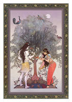 Shiva and Sati by rogner5th