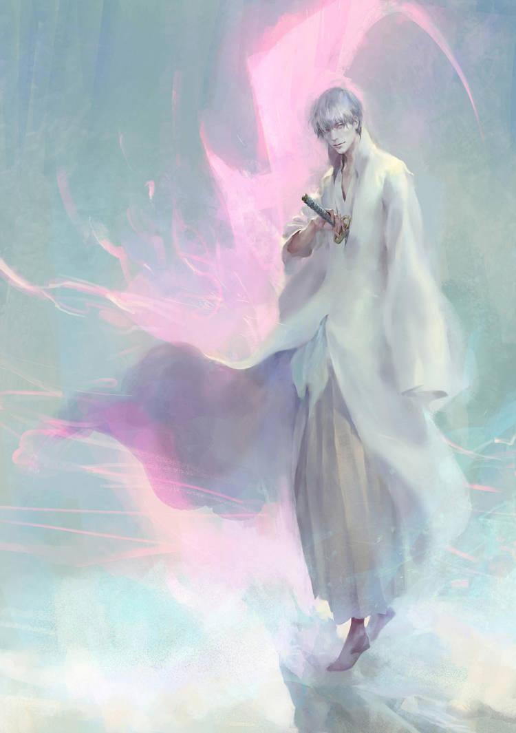 Gin Ichimaru by rogner5th