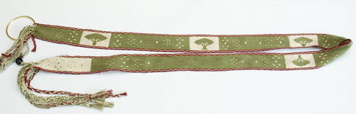 Trees and Flowers Belt by Chiomara