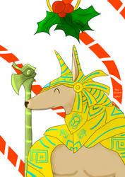 Secret Santa - Nasus by RainThatFallsSoftly