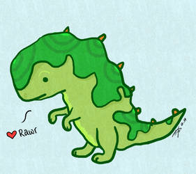 Rawr by RainThatFallsSoftly