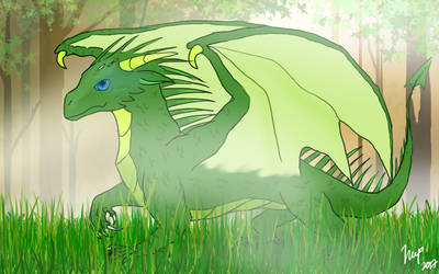 Prince of the Forest by RainThatFallsSoftly