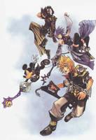 Kingdom Hearts Birth by Sleep by Scorpius02
