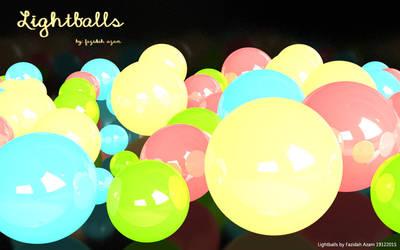 Festive Lightballs by fazzam91