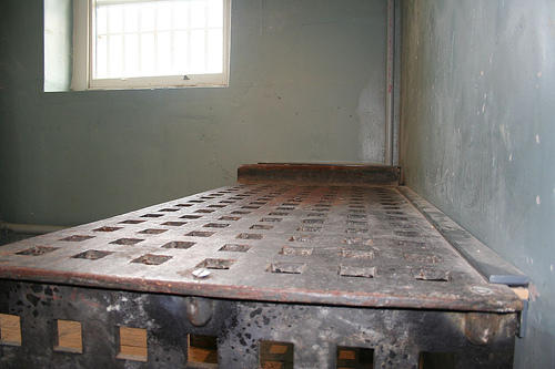 Prison bed by puncturedbicycle