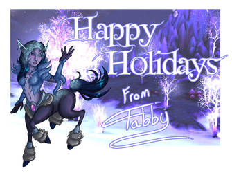 Happy Holidays 2009 by digitallyfanged