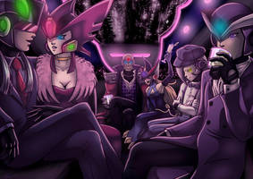 Maverick Limo Party by digitallyfanged