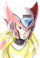 Zero Watercolor by digitallyfanged