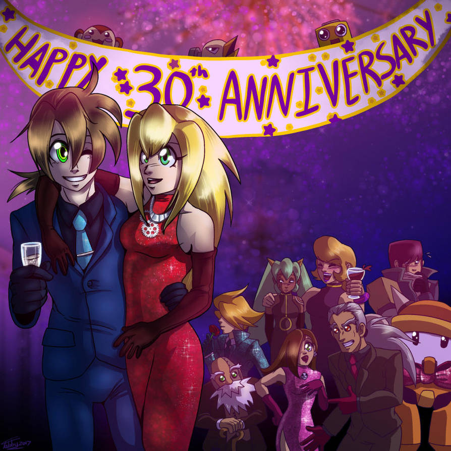30th Anniversary by digitallyfanged