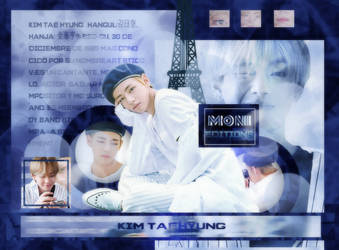 KimTaehyung| NewID by MoniEditions123