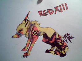 RED XIII by DARK-SPIRIT-W0LF