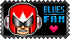Blues Fan by debureturns
