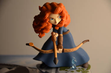 Merida - disney infinity by Elliepamp