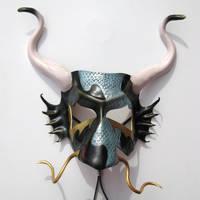 Chinese Dragon Mask by TasteOfCrimson