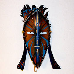 Witch Doctor Mask by TasteOfCrimson
