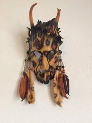 Cheeta Shaman Mask by TasteOfCrimson