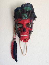 Shroom Shaman Mask by TasteOfCrimson