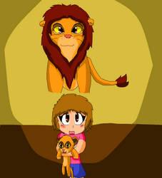 Childhoods #1 Lion King by ElizabethPeterson