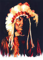 Chief Sitting Bull by Katie-O