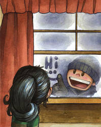 outside the window by Katie-O