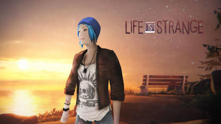 Life is Strange - Chloe sunset by tomasdziak