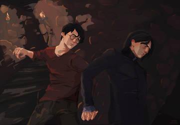 Harry Severus by MarinaMichkina