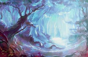 Forbidden Forest (2) by MarinaMichkina