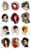 Portraits (15minutes) by MarinaMichkina
