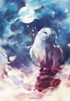 Space owl by MarinaMichkina