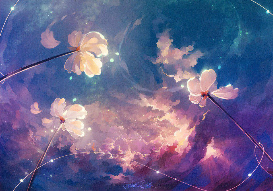 Magical flowers by MarinaMichkina