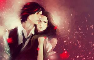 Love couple by MarinaMichkina