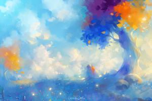 Romantic clouds by MarinaMichkina