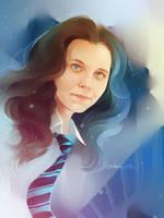 Ravenclaw girl by MarinaMichkina