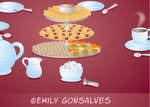 Tea and Snacks by Lanisatu