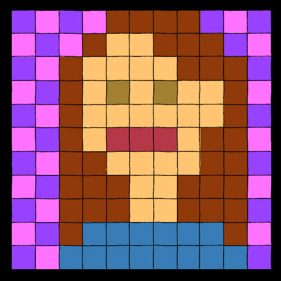Pixel Portrait by Lanisatu