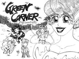 Green Corner Anthology Cover by Lanisatu