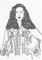 Portrait of Kate Beckinsale in movie Van Helsing by Amalias-dream