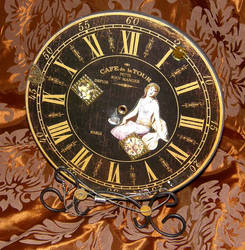upcycling Steampunk decorative clock by Amalias-dream