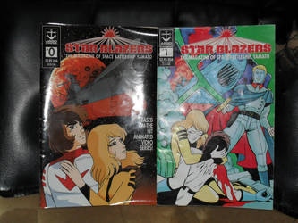 Star Blazers issue 0,1 by SmokeyandtheBandit