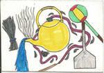Ranma 1/2 sketch card by SmokeyandtheBandit