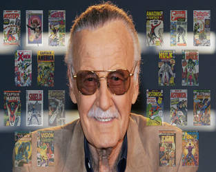 Stan Lee RIP 1922-2018 by SmokeyandtheBandit
